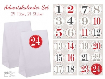 adventskalender sets zum selbst bef llen versandkostenfrei ab 50. Black Bedroom Furniture Sets. Home Design Ideas